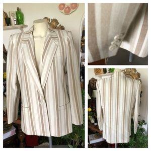 Vintage SASSON Tuxedo Style Blazer Jacket